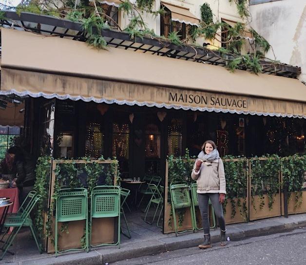 Cafeterías de París