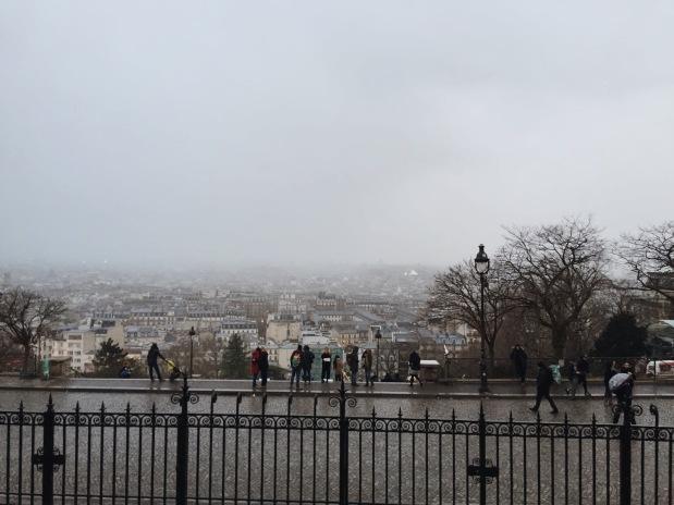 Vistas desde la Basílica Sacre Cour