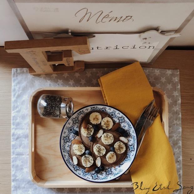 Tortitas de harina de avena sabor CHOCO